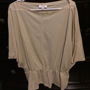 NWOT Blouse, Cream Colored, Beautifully Made